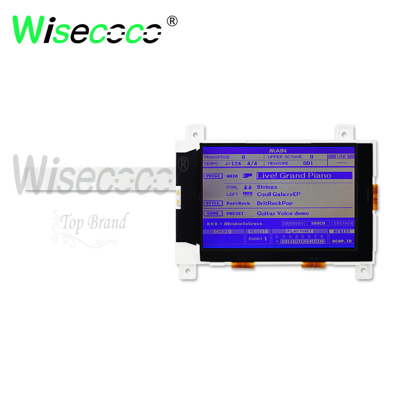 Wisecoco Original  PSR S500 S550 S650 Mm6 DGX630 DGX640 LCD Screen For Piano Display Free Shipping