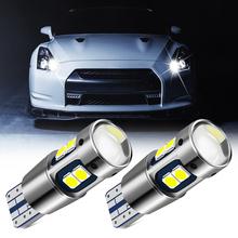 2 sztuk T10 W5W Super jasne LED samochodów światła parkowania dla MAZDA 2 3 M3 M5 M6 RX-8 MX-5 Atenza CX5 CX-7 CX-9 tanie tanio Klirens lights T10 (W5W 194) 12 v Ciemny szary Uniwersalny 600lm W 5W festoon