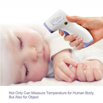 Multi-purpose Infrared LED Digital Thermometer Human Adult Home Fever Measuring