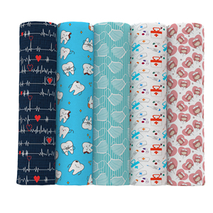 David accessories 50*145cm Healthy Nurse Polyester Cotton Fabric for Tissue Kids home textile for Sewing Tilda Doll Cloth,c10730