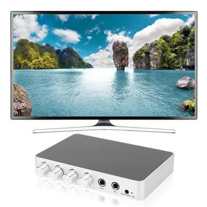 Image 5 - mixer audio 4K Mini HD Karaoke Sound Mixer Dual Microphone Input Volume Adjustment for Stage KTV Room mesa de mezclas de sonido
