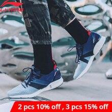 Li ning Zapatillas deportivas superligeras para hombre, calzado deportivo para correr, con forro de espuma ligera transpirable, ARBP009 XYP905