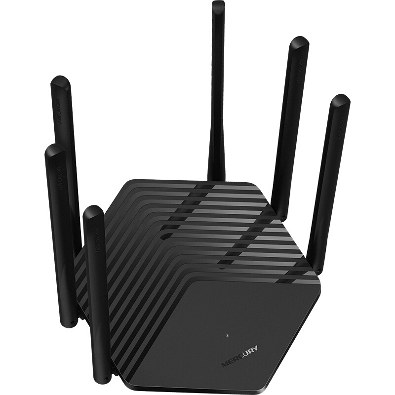 Mercury D191G Gigabit Port Router 1900M Wireless Household 5G Dual Frequency Fiber Broadband WiFi Wall Chinese plug 2