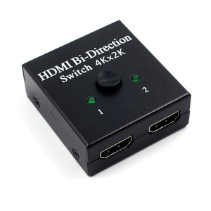 4K UHD HDMI split ter HDMI коммутатор 1X2 2X1 split 1 in 2 Out усилитель 1080P 4K x 2K HDMI коммутатор 2 порта двунаправленный