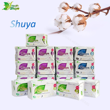 Panty-Liners Towel-Pads Anion Sanitary-Napkin Shuya Organic-Cotton Feminine-Hygiene Women