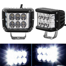 2pcs 6000K 45W Car Lights LED Light Bar Spot Headlight Off-Road Tractor Work Lamp High Quality