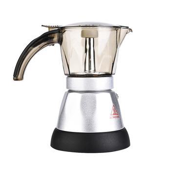 300ml Electrical Espresso Moka Pot Coffee Percolators Italian Mocha Coffee Maker 220V Stovetop Filter Percolator Cafetiere фото