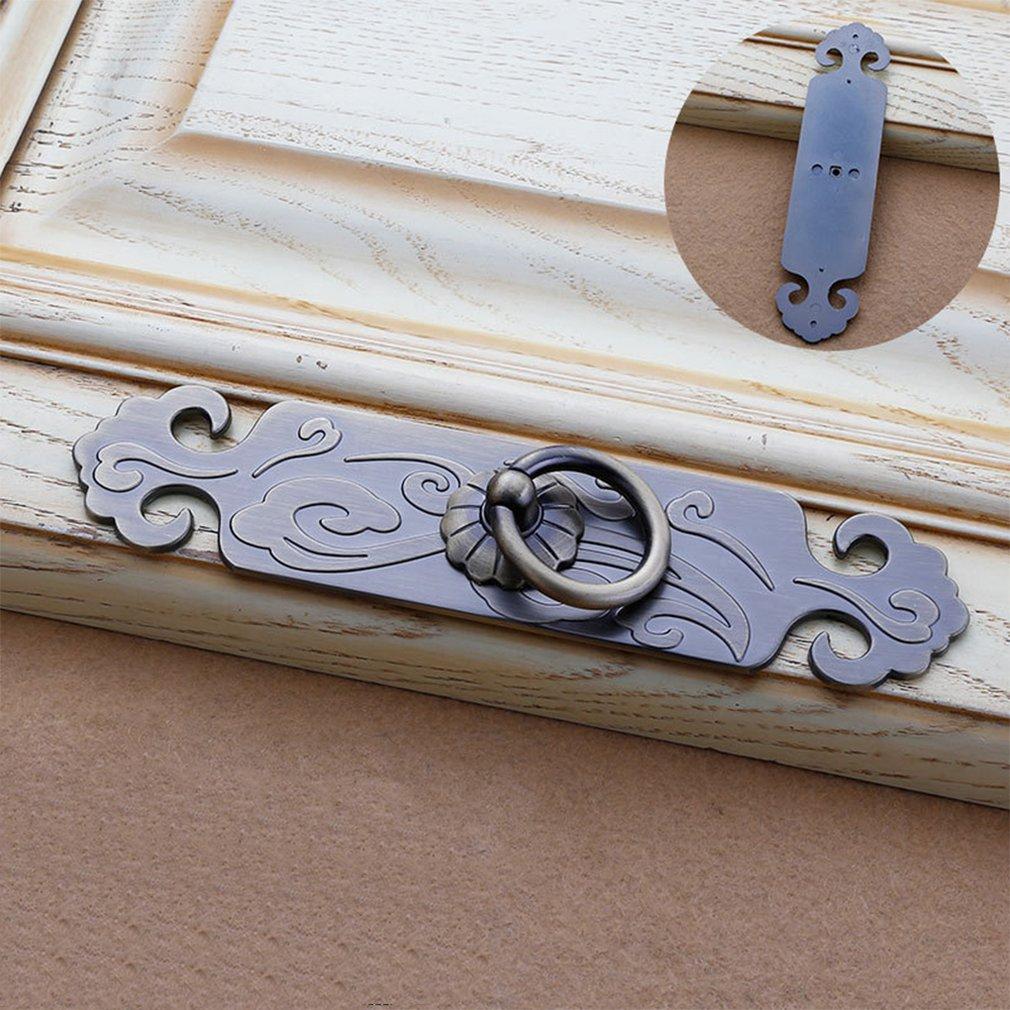 Classical Cabinet Pulls Wardrobe Furniture Handle European Antique Door Qinggu Hardware Accessories Dresser 6101