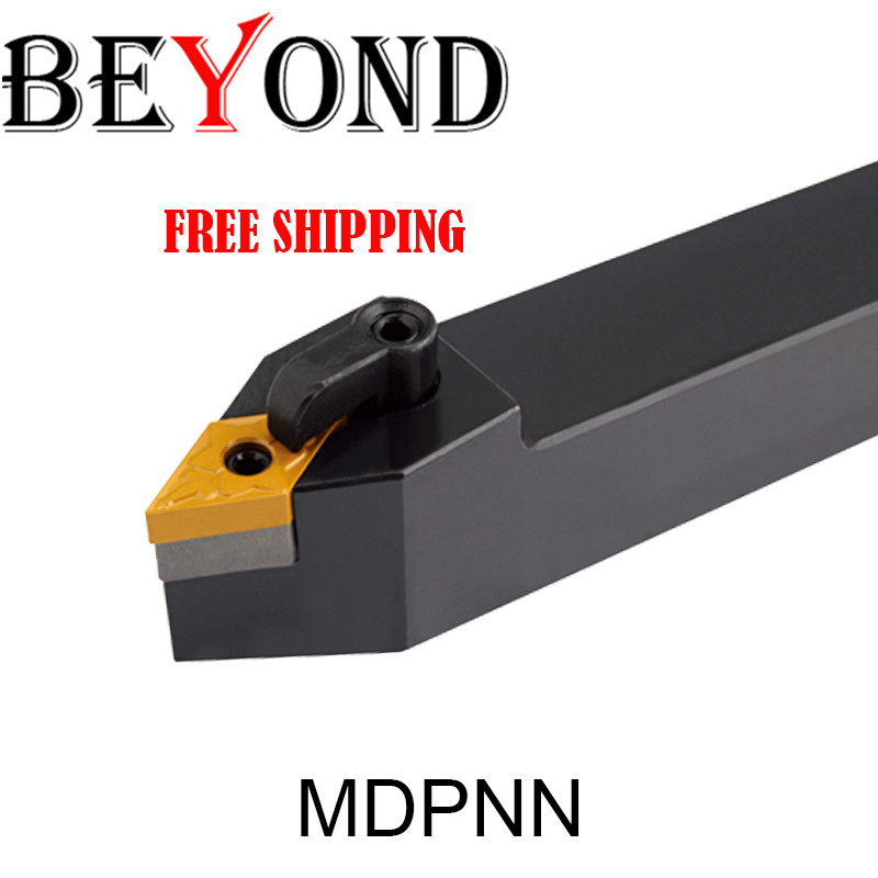 BEYOND MDPNN1616H11 MDPNN2020K15 MDPNN 16mm Lathe Tool Holder External Turning Tools For Carbide Inserts DNMG CNC MDPNN2525M15