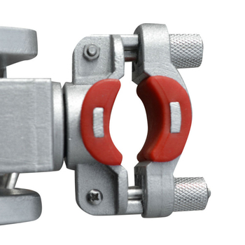 Sea Fishing Rod Bracket Holder Mount Clamp Anti-corrosion Silver Portable