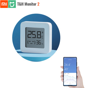 Image 1 - Original Xiaomi Mijia Bluetooth Temperature and Humidity Monitor 2 Thermometer Hydrometer T&H HT Smart Home Super Long Standby