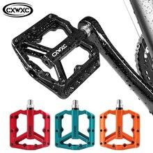 Pédales vtt plates ultralégères pédale de vélo en Nylon pédales de plate forme Bmx VTT 3 roulements scellés pédales de vélo pour vélo