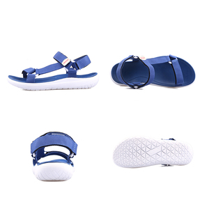 Image 3 - GRITION Women Outdoor Quick Drying Flat Sandals Ladies Soft Light Weight Beach Sandals Fashion Summer Casual Walking Shoes Blue