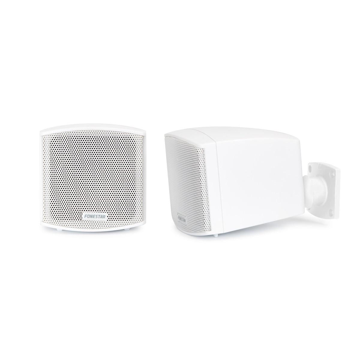 Couple's Baffles Fonestar CUBE-62B Low Impedance, Ideal Public Address System, Power 25 W Max, Tenderness 88 DB, Colo