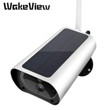 WakeView Outdoor HD 1080P Wifi 4G Solar Camera Security Surveillance Audio Home Security Camera wifi Waterproof PIR APP IR