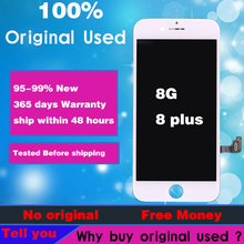 Official Original Screen For iphone 8 Lcd Replacement 8 Plus Display Pantalla with 3D Touch Panel Digitize Assembly parts