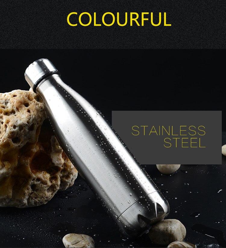 Garrafa térmica de aço inoxidável da garrafa