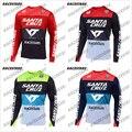 Горнолыжная Джерси Santa Cruz, одежда для горного велосипеда, велосипедная футболка MTB MX, велосипедные рубашки для бездорожья, для езды по пересе...