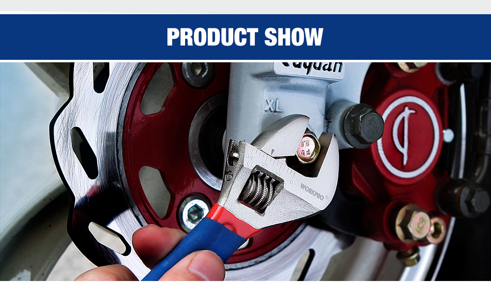 show case of products