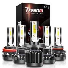 العالمي عالية الطاقة G2 LED سيارة المصابيح الأمامية كشافات السيارات 9005 HB3 9006 HB4 9012 H1 H4 H7 H8 H9 H11 6000K Led الضباب ضوء