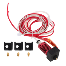 1 Set Extruder Hot End Nozzle Kit Heater Nozzle Silicone Cover for 3D Printer