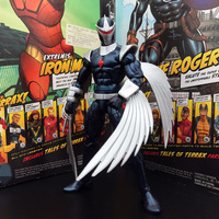 Original 6'' Marvel Legends Darkhawk Joints Doll Action Figure Collectible Model Loose Toy No Box