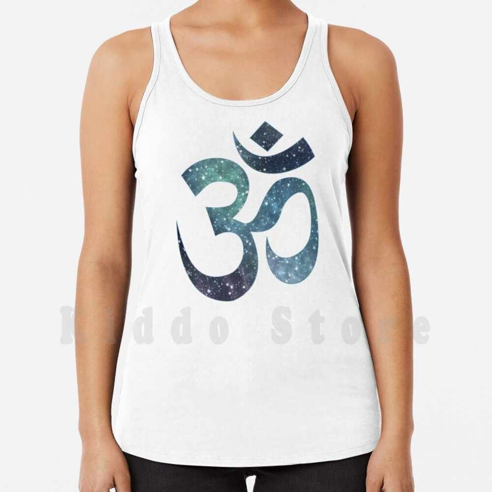 Spiritual Buddhism Meditation Om Symbol Floral Women/'s Vest Tank Top