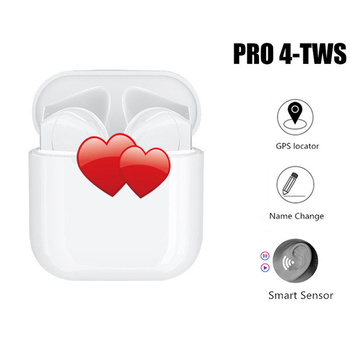 2020 TWS Wireless Earbuds PRO 3&4 Bluetooth 5.0 Ear Buds Samart Sensor Control Earphone 1:1 Imitate for IOS Android Earphones