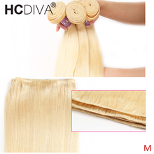 "Straight 613 Blond Haar Bundel Braziliaanse Remy Human Hair Weave 8 ""-30"" Inch 613 Honing Blond Menselijk hair Extensions(China)"