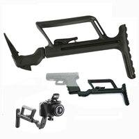 Airsoft M16 AR15 Accessori M4 tattico GLR 440 G17 magazzino per la portata del fucile di caccia per pistola glock Gen4 G34 Gen2 gen3 G18 G19