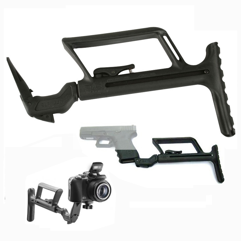 airsoft M16 AR15 Accessories M4 tactical GLR 440 G17 stock for rifle scope hunting for pistol glock Gen4 G34 Gen2 Gen3 G18 G19