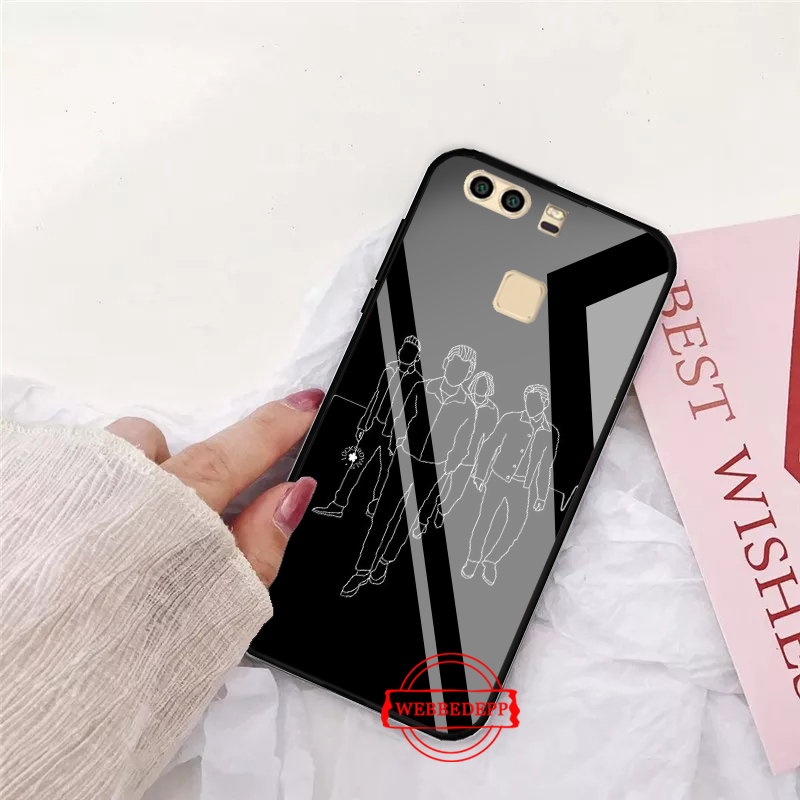 WEBBEDEPP arctic monkeys Multi Glass Case for Huawei P10 lite P20 Pro P30 P Smart honor 7A 8X 9 10 Y6 Mate 20 in Fitted Cases from Cellphones Telecommunications