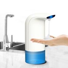 Kacuyelin 350ml סבון קצף 3 10cm Touchless חכם חיישן ABS Sanitizer למטבח חדר רחצה