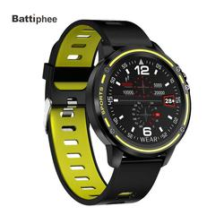 Умные часы Battiphee Microwear L8, спортивный монитор, модный дизайн, сенсорный экран, ЭКГ + ППГ, IP68, фитнес, соцсети, Push-уведомления для мужчин и женщин