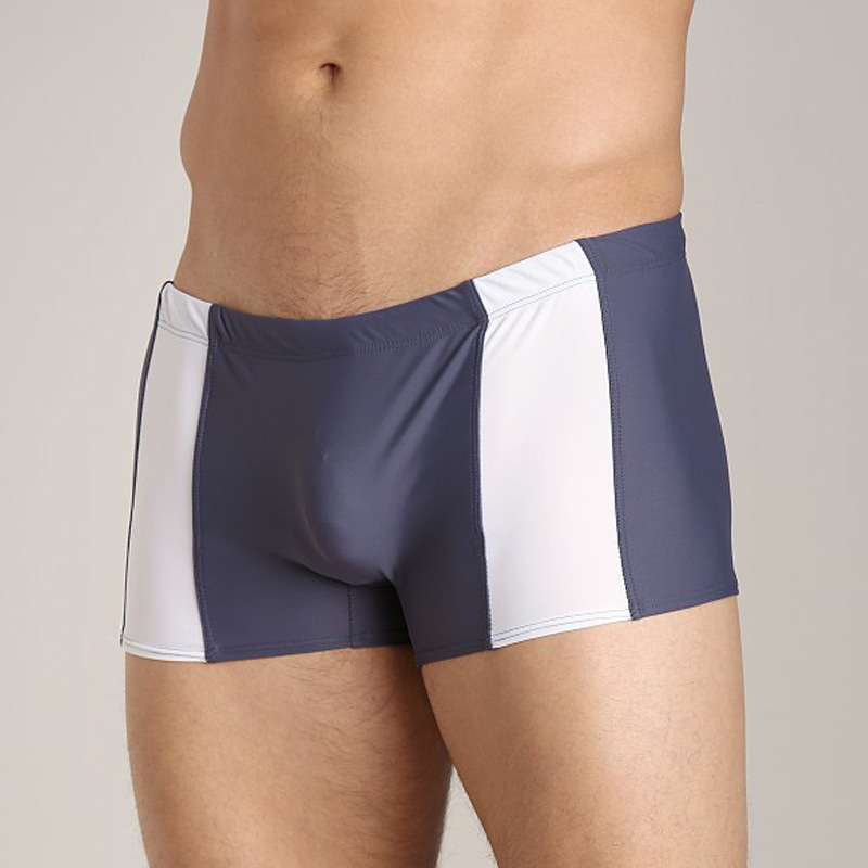 Europe And America Business Boxer Shorts Men Summer New Style Swimming Shorts Fashion Plus-sized Swimming Trunks