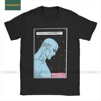 Camiseta de manga corta de Watchmen para hombre, camisa Hipster de personajes de la serie Smiley, El dr. Brooklyn, Alan Morris, Emo, Nihilist, héroes, 100% de algodón