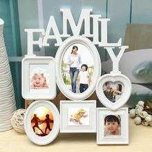 Семья памяти фоторамка пластиковая Настенная картина держатель дисплей домашний декор комнаты