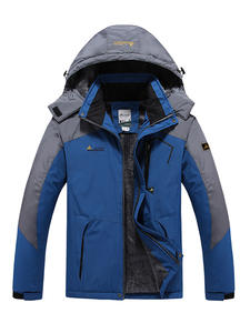 Snow Jacket Skiing-Coat Hiking Waterproof Outdoor Winter Ski Super Warm Men TRVLWEGO