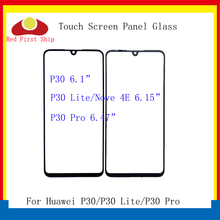 10Pcs/lot Touch Screen For Huawei P30/P30 Lite/P30 Pro Touch Panel Front Outer Glass Lens Touchscreen NO LCD Nova 4E LCD Glass