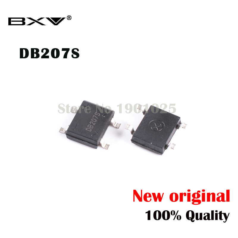 10PCS DB207S SOP-4 DB207 SOP SMD 2a/1000v New And Original IC