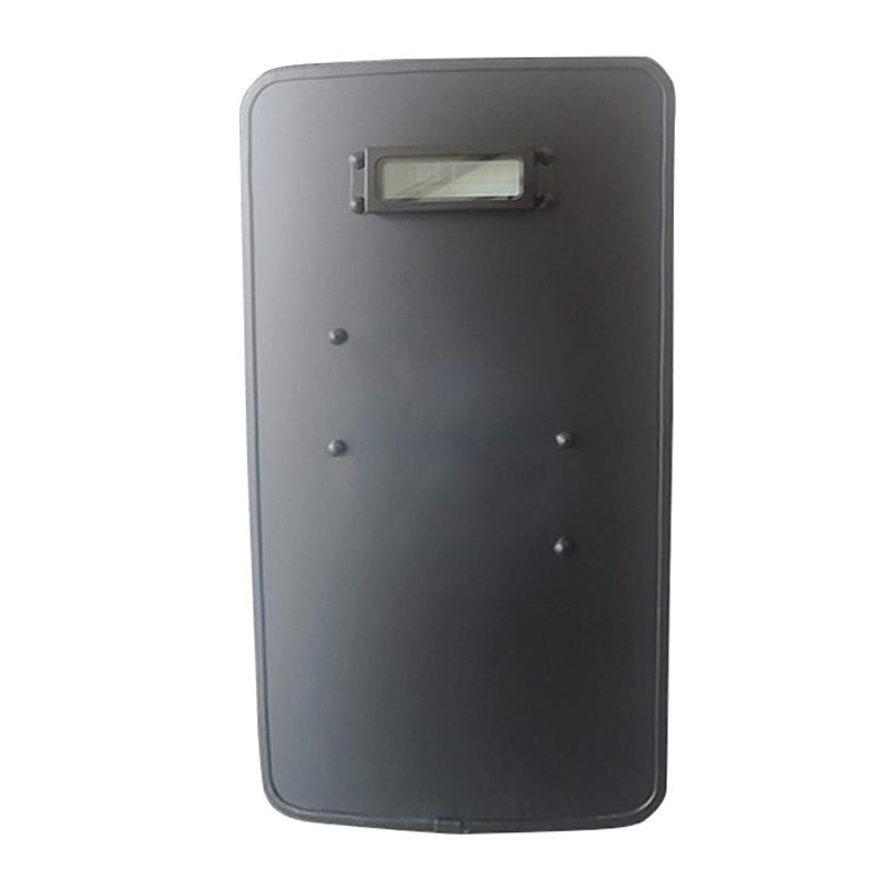 FAST Shipping NIJ Level IIIA Police Lightweight Portable Bulletproof Shield Polyethylene Armored Ballistic Tactical Shield