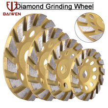 100/125/150/180mm Diamond Segment Grinding Wheel Cup Cutting Disc for Marble Concrete Masonry Stone Diamond Grinding Wheel