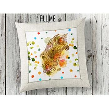 Plume 3d Pillow decorate image