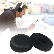 2PCS Headphone Cover Velvet Earphone Sleeve Replacement Headset Pads For 70MM/80MM/90MM/100MM Support Wholesale