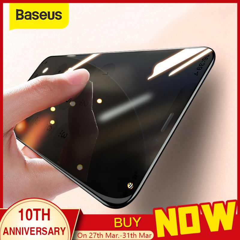 Baseus 0.3mm Protective Tempered Glass For IPhone 11 Pro Glass Full Coverage Screen Protector Glass On IPhone 11 Pro Max 2019