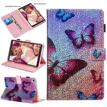For Samsung Galaxy Tab A 8 2019 SM-P200 SM-P205 Case Stand Tablet Magnetic Cover 8.0 Inch