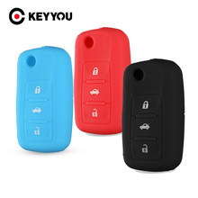 KEYYOU 2/3 Buttons For VW VOLKSWAGEN Jetta Beetle Passat Golf Rabbit MK4 MK5 R32 Silicone Key Fob Cover Case Car Auto Key Cover