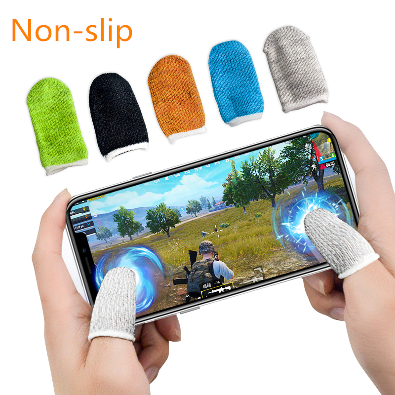 RETROMAX Finger Gaming Gloves For PUBG/MOBA/iPhone/Android/iOS Mobile Phone/Tablet Anti-sweat Breathable Finger Glove Smartphone