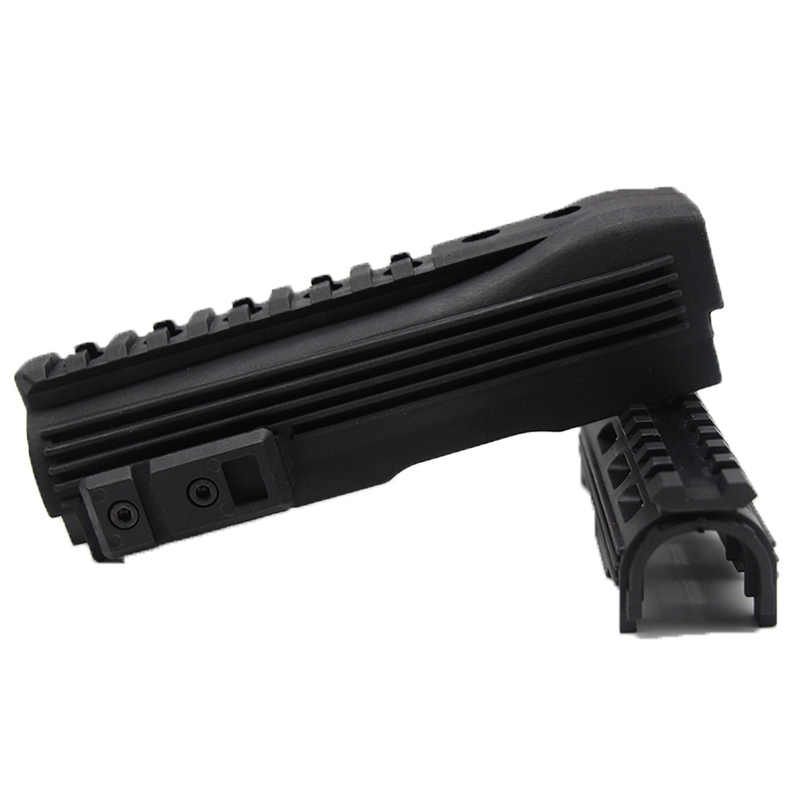 טקטי ציד Airsoft לירות AK 74 Strikeforce פולימר Handguard עליון תחתון Picatinny AK סדרת ציד רובה אקדח אבזרים