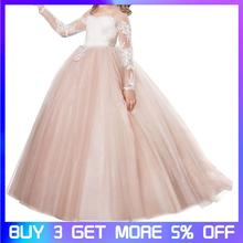 Girls dress Princess Dress Flower Girl Evening Piano Performance Wedding Long Section
